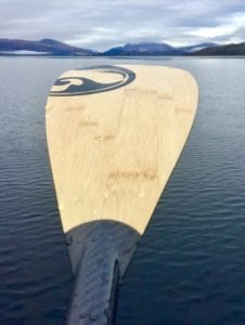 Carbon SUP paddle | Bamboo SUP paddle | 3 piece adjustable SUP paddle