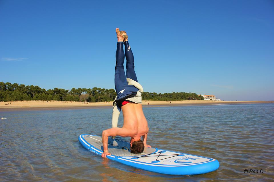 SUP yoga for the soul