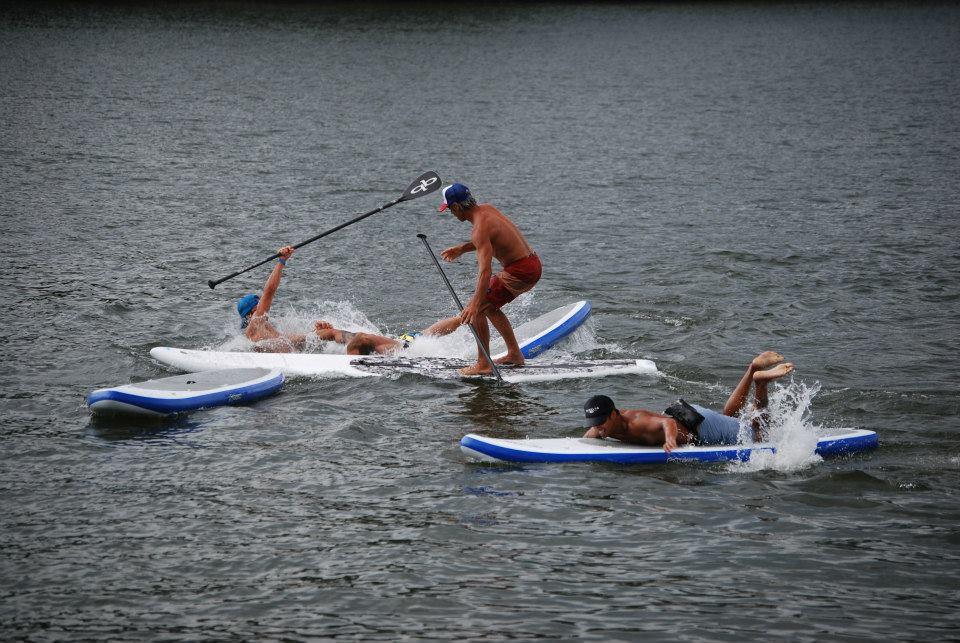 """Going training"": SUP speak for paddlers"