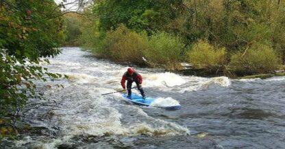 Llangollen white water paddling