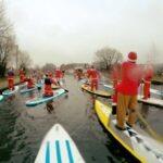 Festive paddle