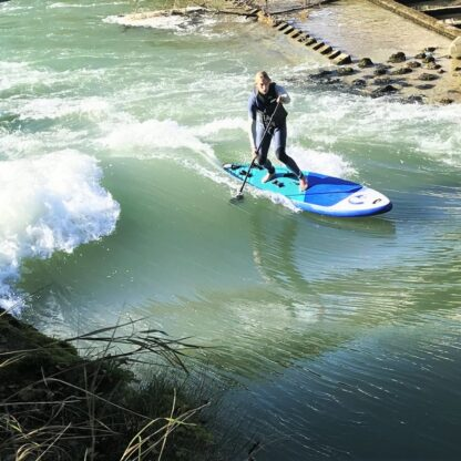 inflatable river surf