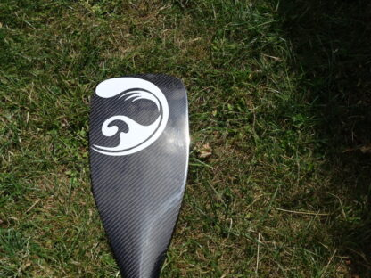 Carbon SUP race paddle small high aspect