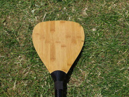 Medium bamboo teardrop SUP paddle