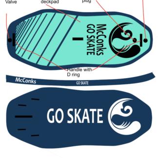 River surf Skate