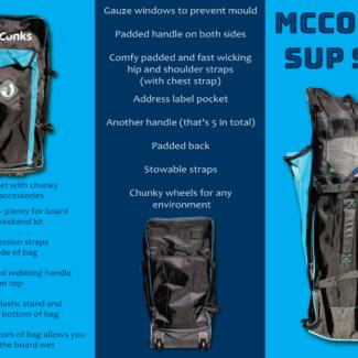180l paddleboard bag