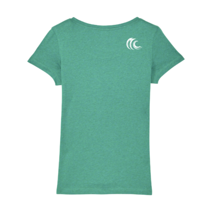 Ladies organic SUP dino t-shirt