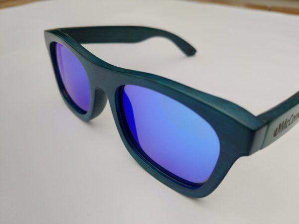 Kids polarised mirror blue sunglasses