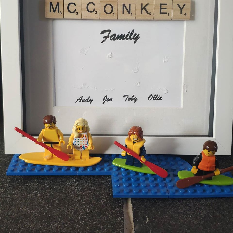 McConks SUP family breakout! – Stop Motion animated fun.