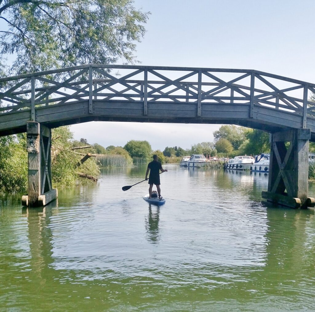 Learning to SUP after COVID-19 lockdown – things to consider (in the short term).