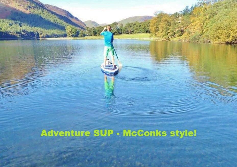 Adventure SUP – McConks style
