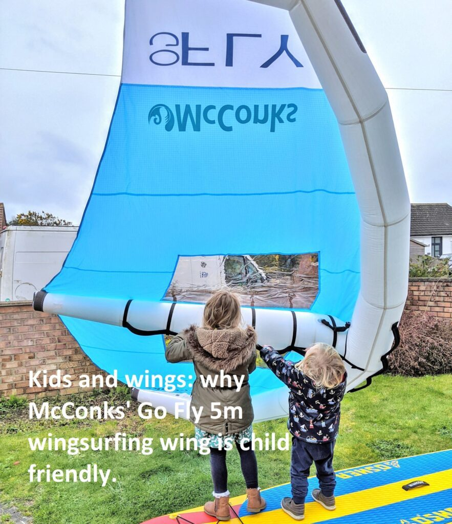 McConks windSUP/windsurf/wing surf/wing foil guide #3 – kiddy wings and why it's so easy for children.
