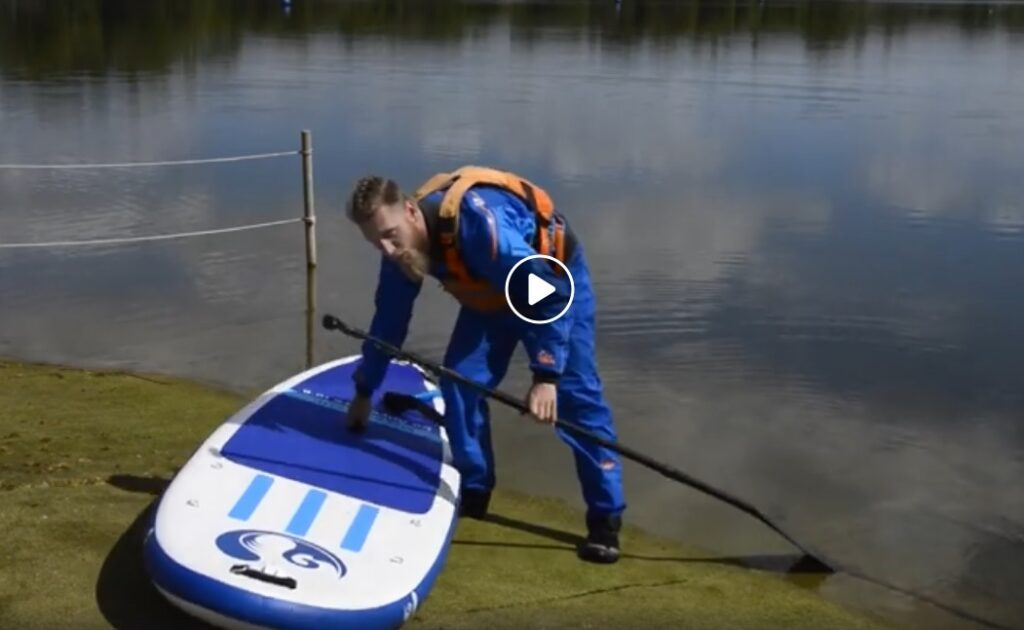 Video: Rapid Skills coaching run through how to begin stand up paddle boarding.