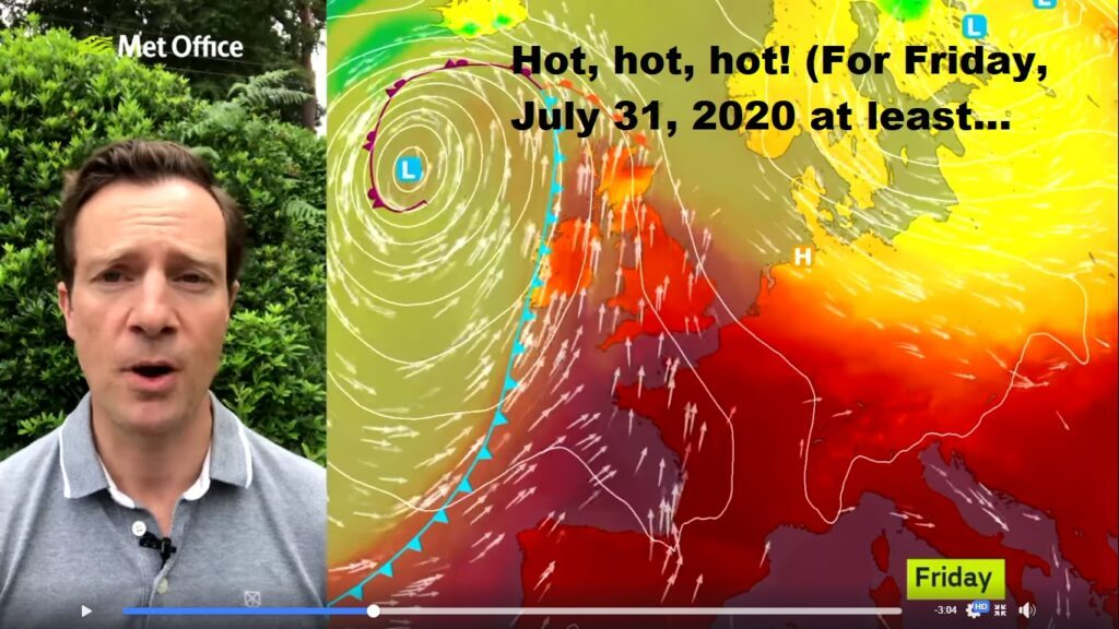 Feeling hot, hot, hot! SUP weather update July 30, 2020.