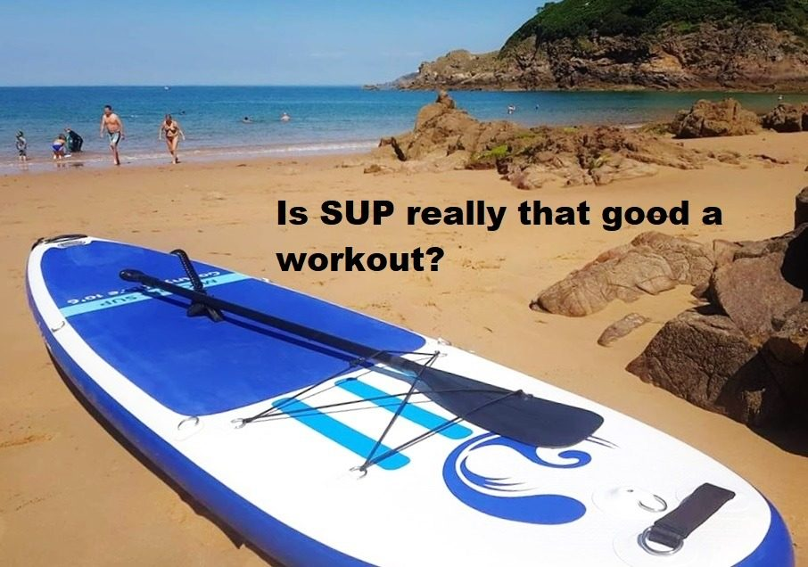 Is SUP really that good a workout?