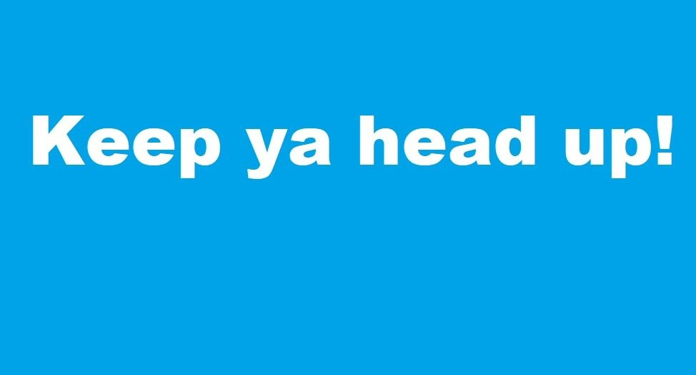 Keep ya head up! – stand up paddle boarding's 'magic trick'.