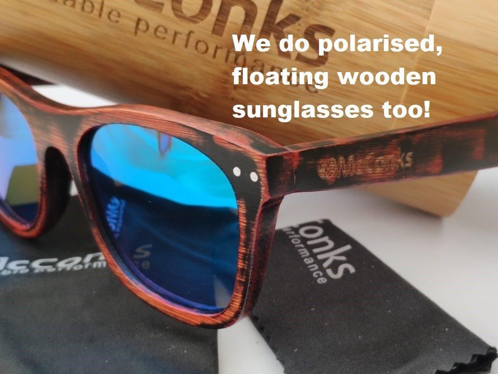 McConks SUP: we do polarised, floating sunglasses too!