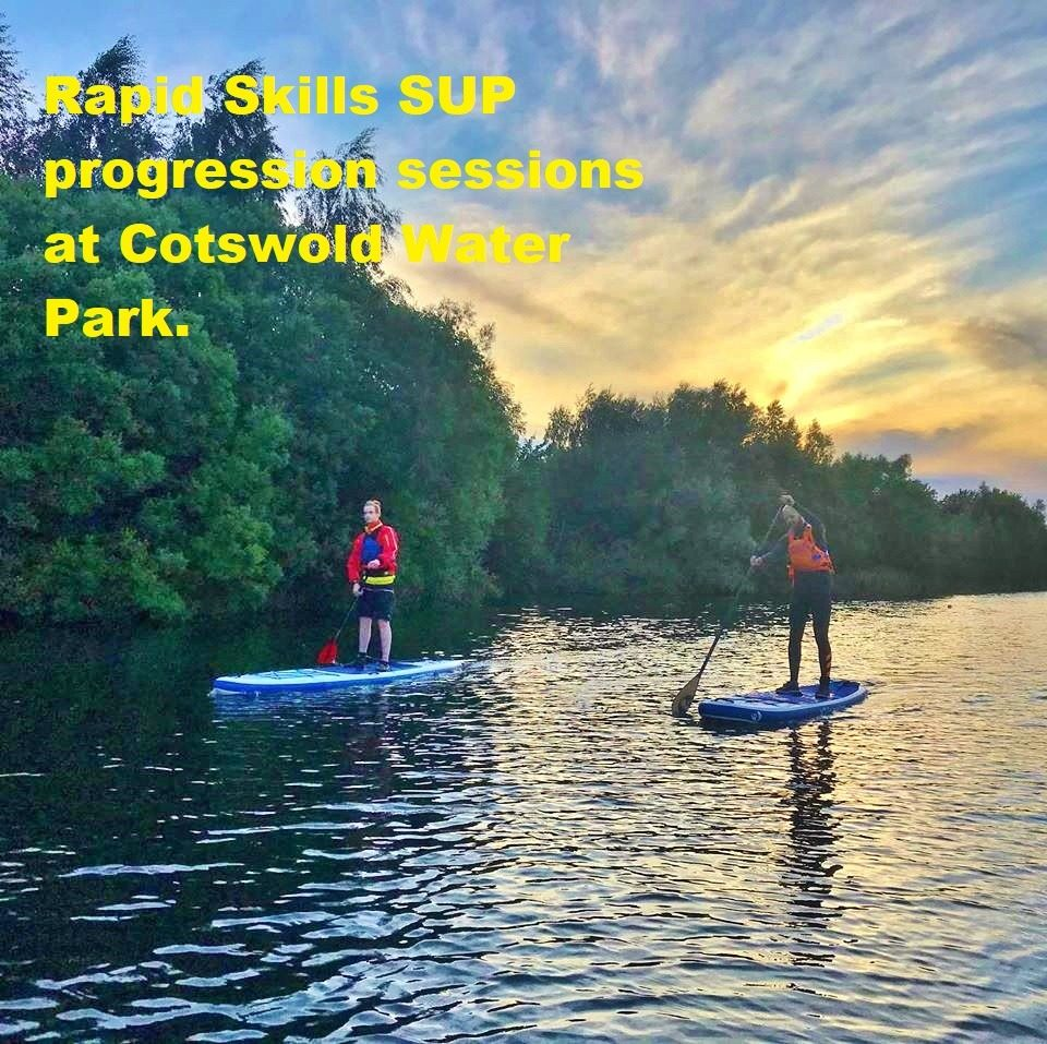 Stand up paddle boarding progression sessions at Cotswold Water Park (Lake 86)