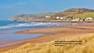 McConks' stand up paddle boarding bitesize travel guides: Croyde Bay, North Devon.