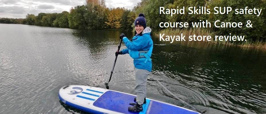 Rapid Skills SUP safety course with Canoe & Kayak store review.