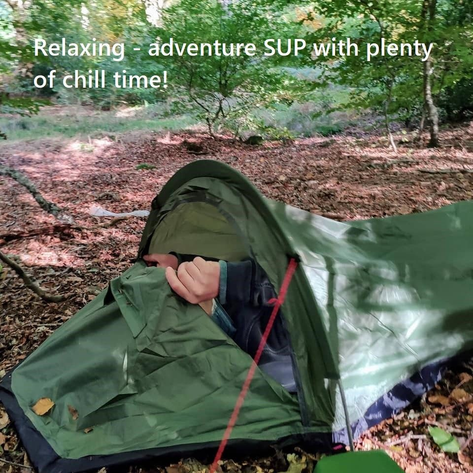 Relaxing – adventure SUP with plenty of chill time!