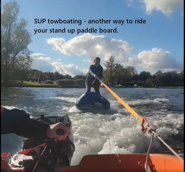 SUP towboating – another way to ride your stand up paddle board.