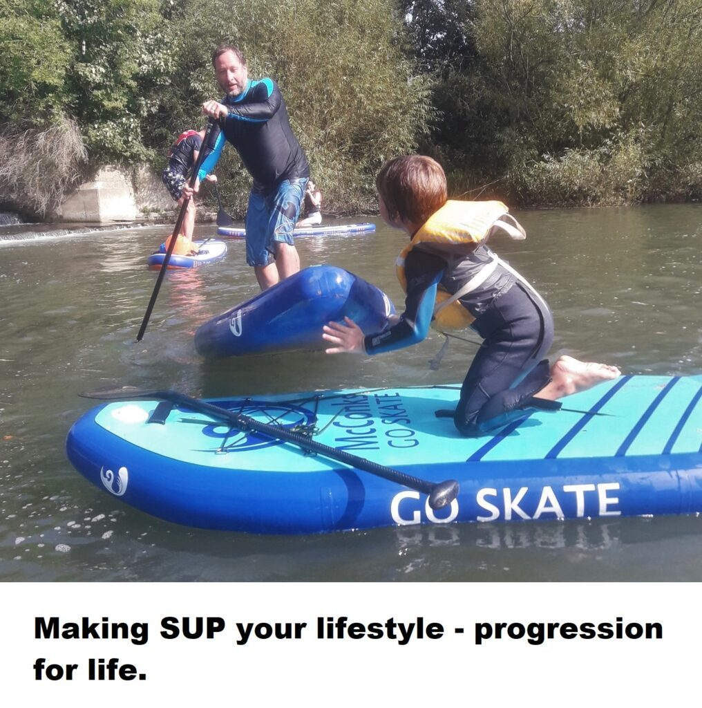 Making SUP your lifestyle – progression for life.