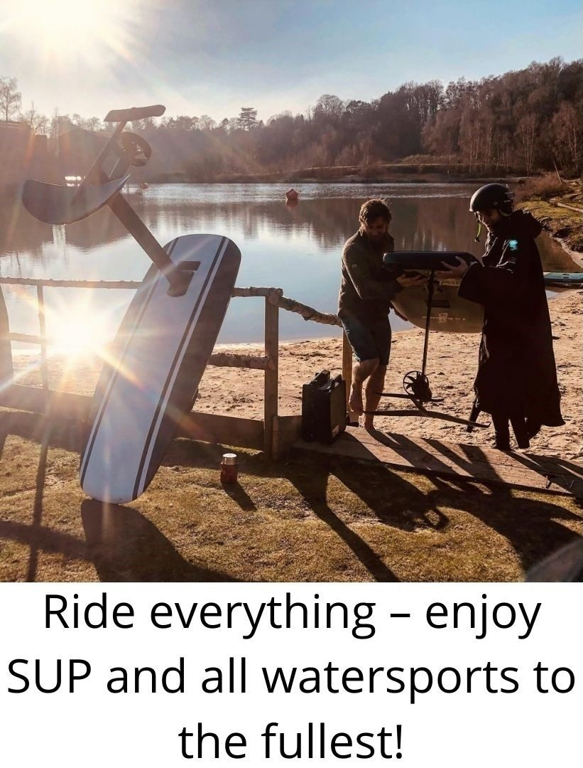 Ride everything – enjoy SUP and all watersports to the fullest!